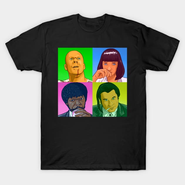 PoPart Fiction - Pulp Fiction T-Shirt
