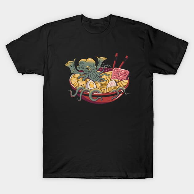 Ramen Cthulhu T-Shirt