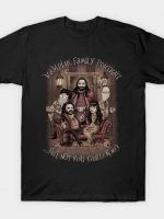 Vampire Family Portrait T-Shirt