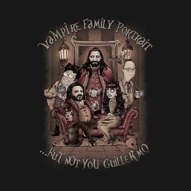 Vampire Family Portrait