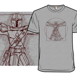 Vitruvian Mando T-Shirt