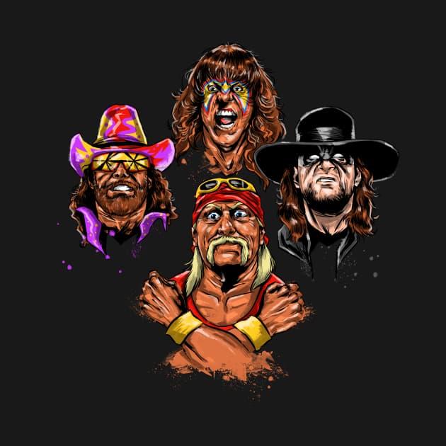 Wrestlers Rhapsody