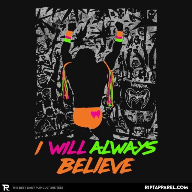 I WILL ALWAYS BELIEVE