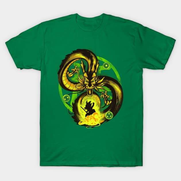 Attack of Shenron 4 T-Shirt