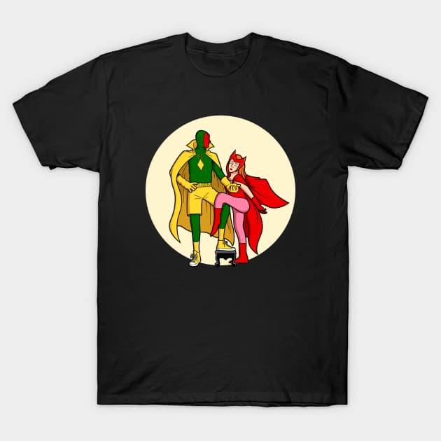 Couple pose - WandaVision T-Shirt