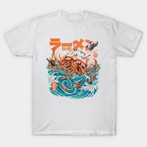Dark Great Ramen off Kanagawa T-Shirt