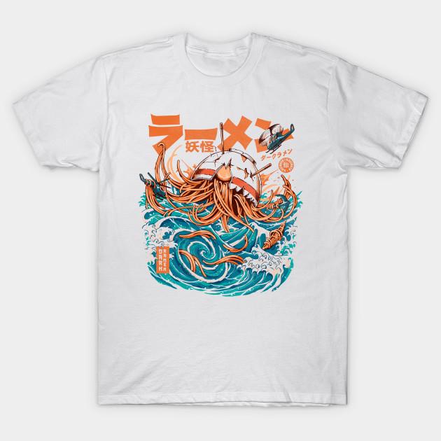 Dark Great Ramen off Kanagawa T-Shirt