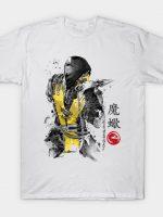 Fire Warrior sumi-e T-Shirt