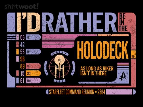 Holodeck Reunion