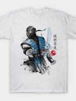 Ice Warrior sumi-e T-Shirt