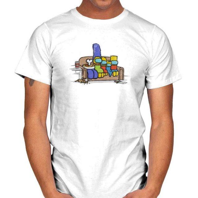 Among Us/Simpsons T-Shirt