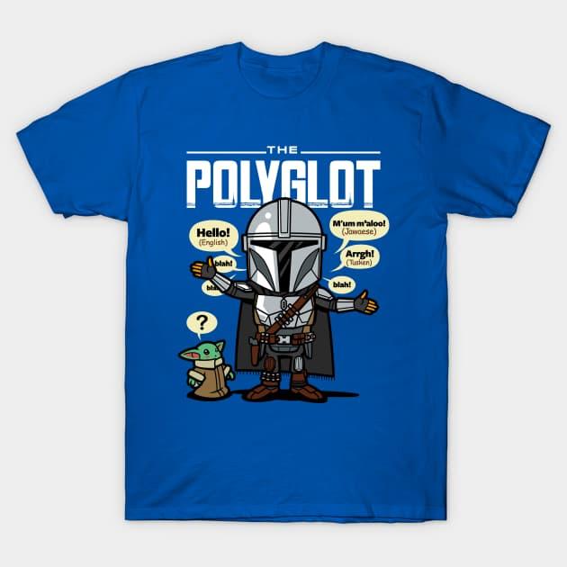 The Mandalorian Polyglot T-Shirt