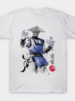 Thunder God sumi-e T-Shirt