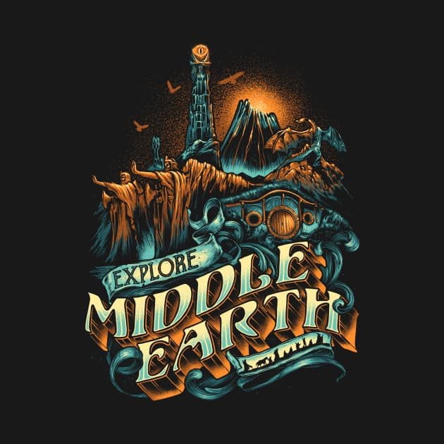 Explore Middle Earth