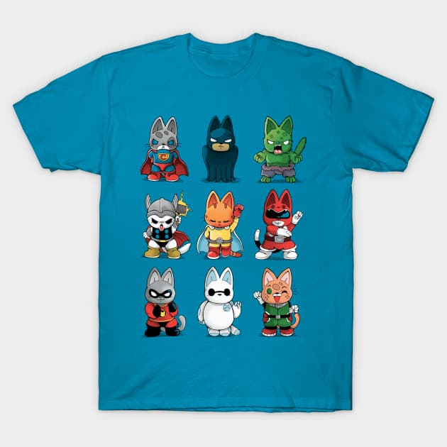 hero Kittens T-Shirt