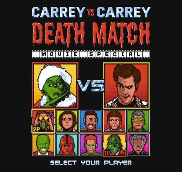 CARREY DEATH MATCH