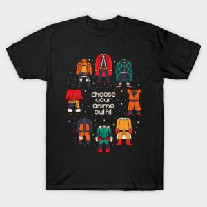 Choose your anime outfit T-Shirt