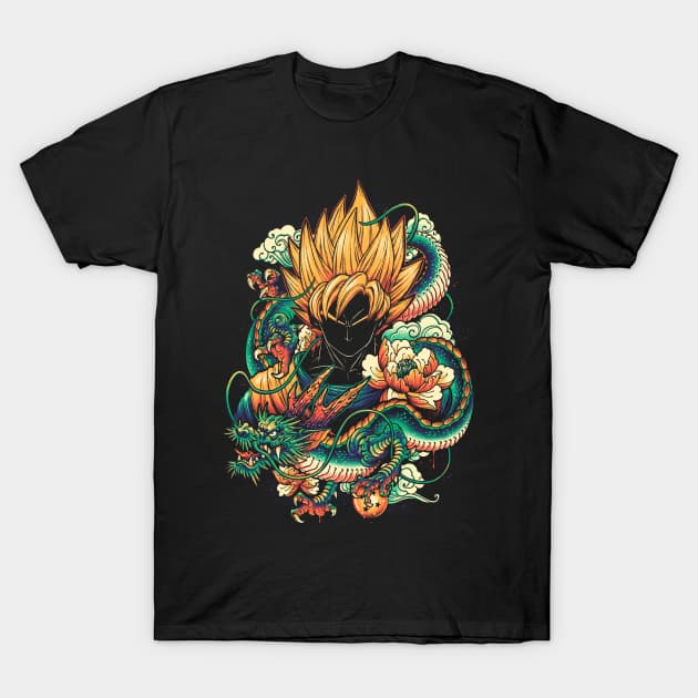 Colorful Dragon T-Shirt