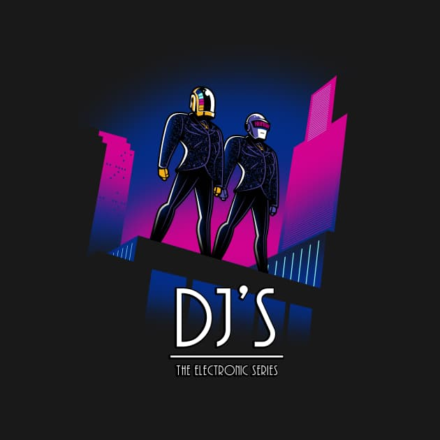 DJ'S The Electronic Series