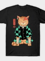 Demon Slayer Cat T-Shirt