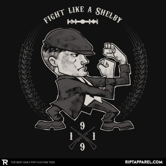 FIGHT LIKE A SHELBY