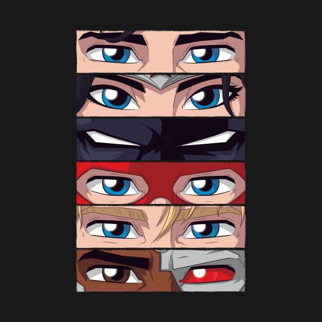Iconic Hero Eyes