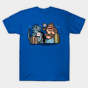 Kaiju Coffee Break T-Shirt