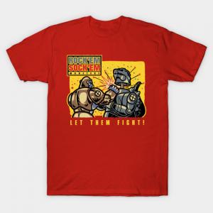 Let'Em Fight! v3 King Kong v Godzilla T-Shirt