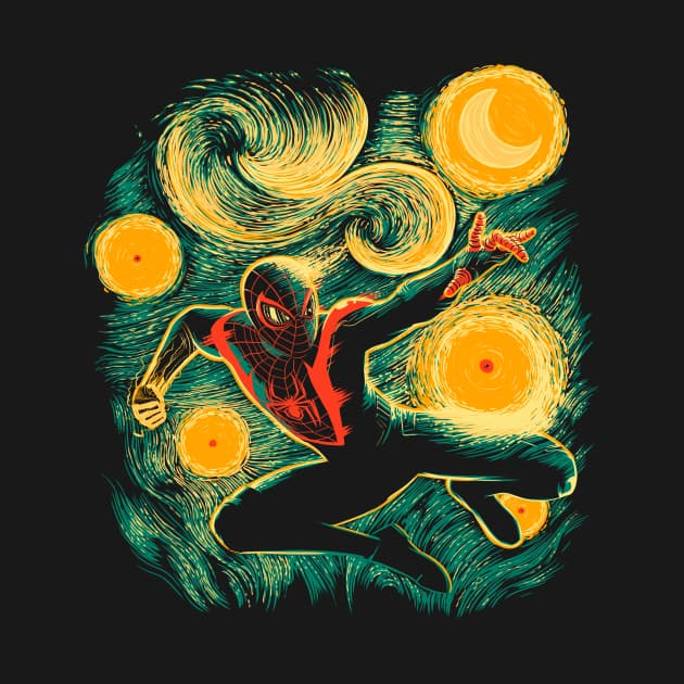 Starry Miles Morales