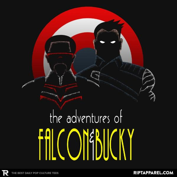THE ADVENTURES OF FALCON AND BUCKY