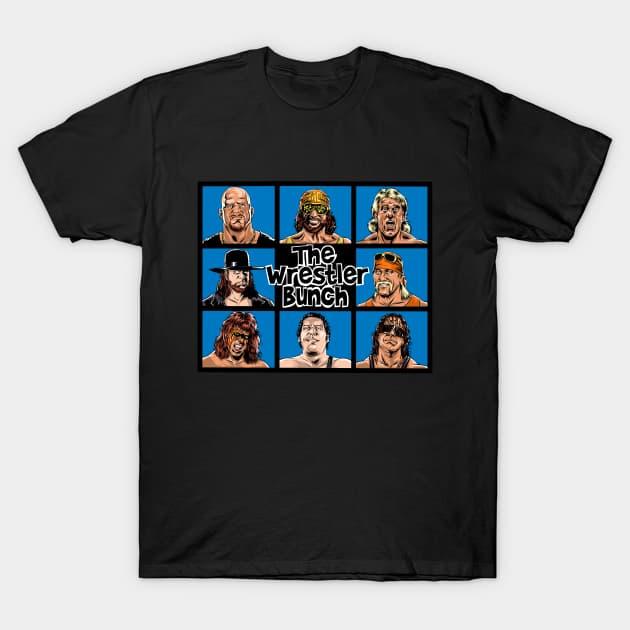 The Wrestler Bunch T-Shirt