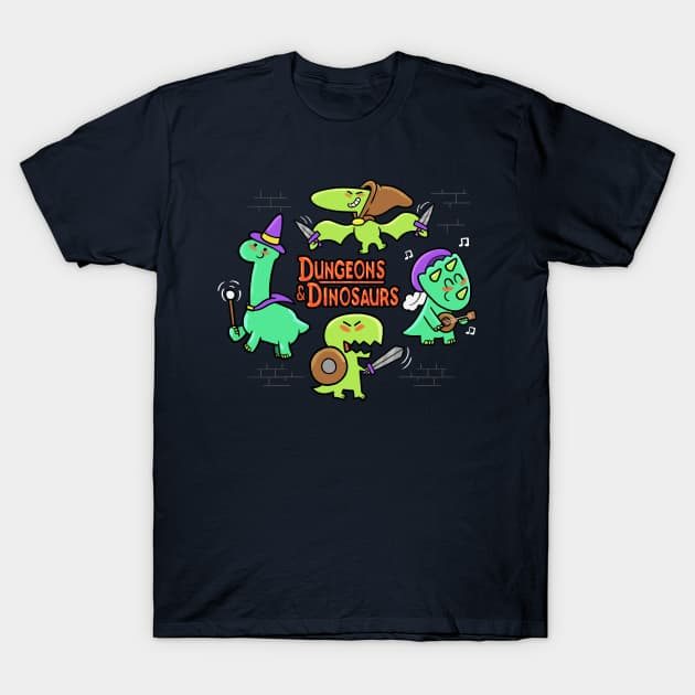Dungeons & Dinos T-Shirt