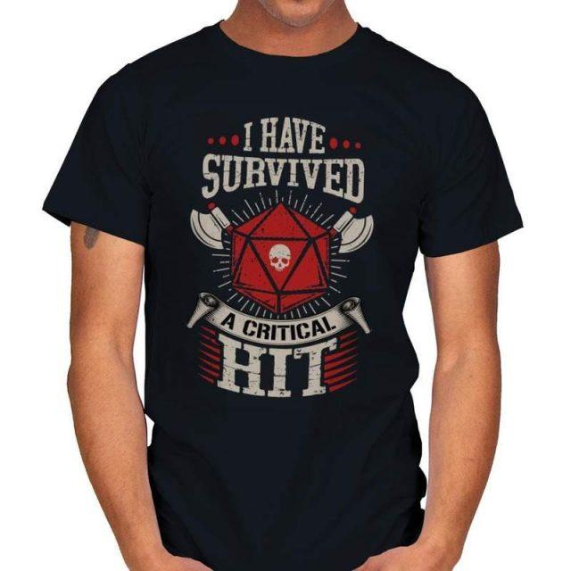 I SURVIVED A CRITICAL HIT T-Shirt