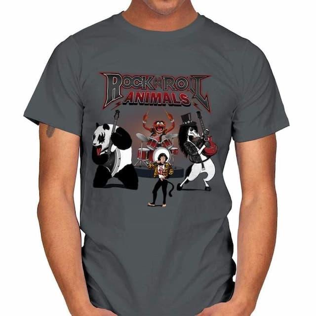 Rock & Roll Animals T-Shirt