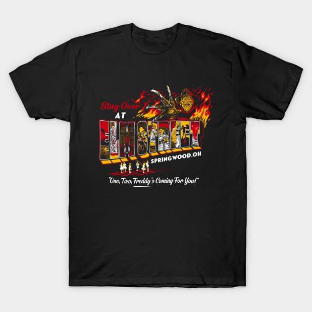Slasher postcards - Elm Street T-Shirt