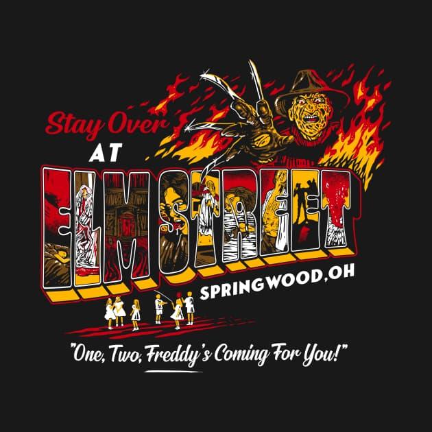 Slasher postcards - Elm Street