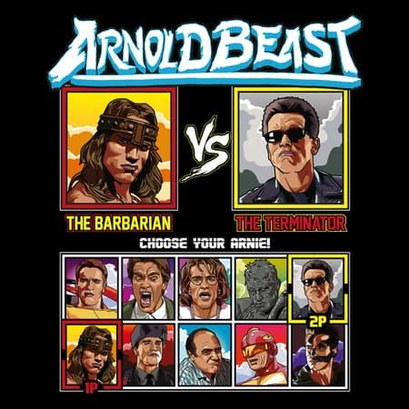 Arnold Beast Fighter - Conan vs Terminator