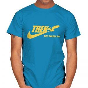 JUST BOLDLY GO - Star Trek T-Shirt