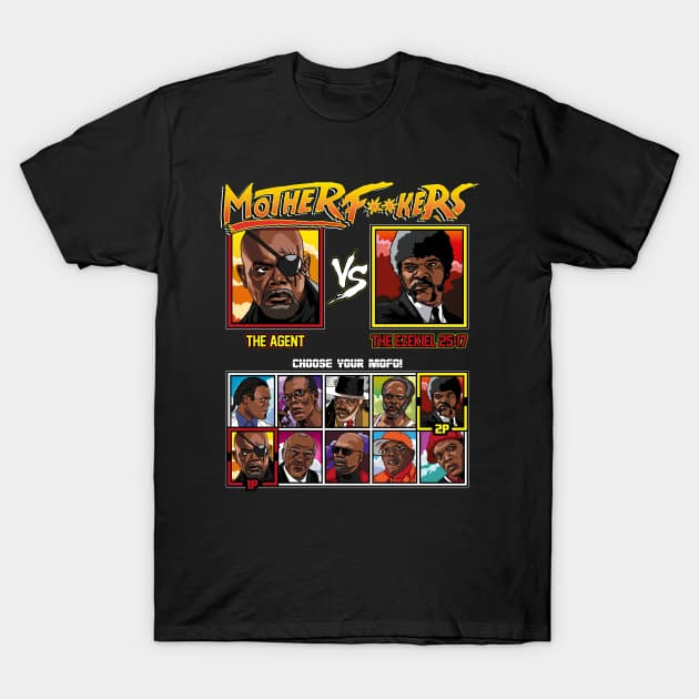 Motherf**kers - Samuel L Jackson VS - Censored T-Shirt