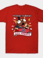 Pug Against the Machines T-Shirt