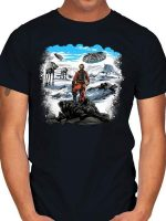 REBEL ABOVE THE SEA OF SNOW T-Shirt