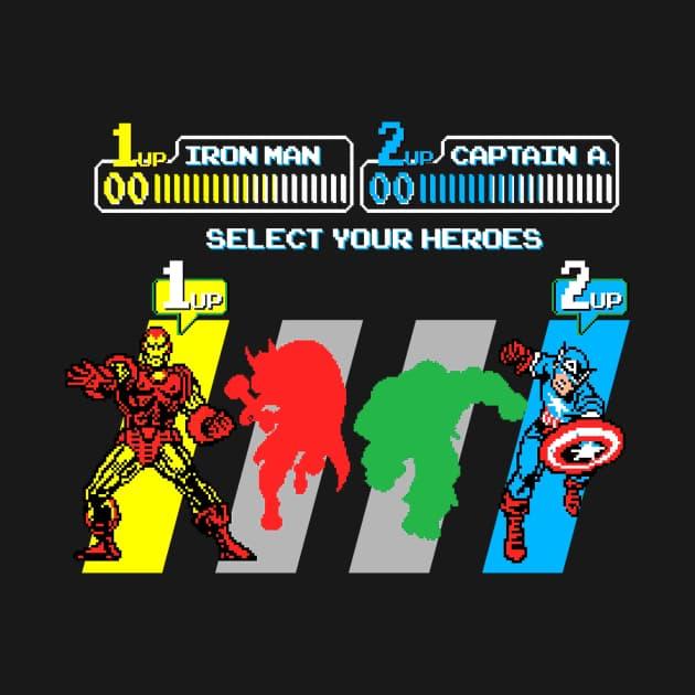 Select an Avenger