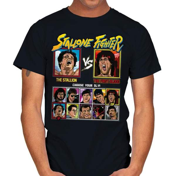 Stallone Fighter - Rocky vs Rambo T^Shirt