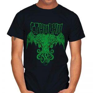 THE CALL OF METAL Cthulhu T-Shirt