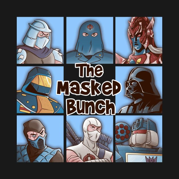 THE MASKED BUNCH T-Shirt
