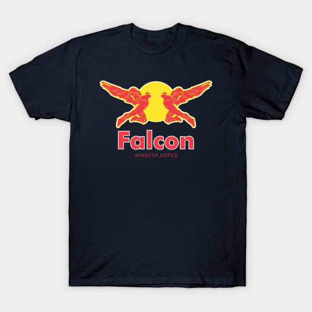 Wings of justice - Falcon T-Shirt