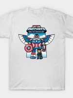 CAPTAIN AMECHRICA AND THE WINTER BOY T-Shirt