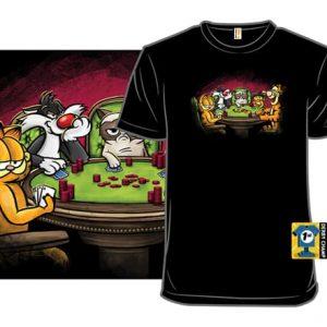 Cat Poker T-Shirt