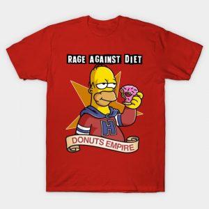Homer Simpson - Donuts Empire T-Shirt