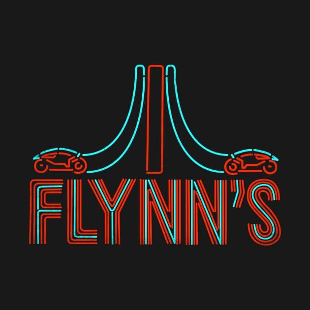 Flynn's Place - Tron: Legacy T-Shirt